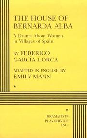 Cover of: The house of Bernarda Alba