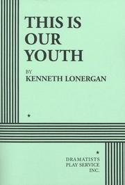 Cover of: This is our youth