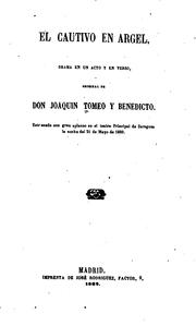 Cover of: El cautivo en Argel
