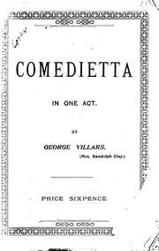 "Cover of: Lady Lovington, Or ""A Soirée Dramatique"": Comedietta in One Act. ""Only a Cushion"", Duologue. ""A ..."
