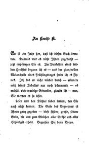 Cover of: Byrons Frauen