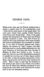 Cover of: Molière, a drama by George Sand, ed. by T. Karcher |