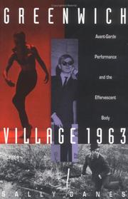 Cover of: Greenwich Village 1963