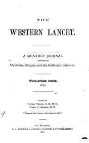 Cover of: The Western Lancet