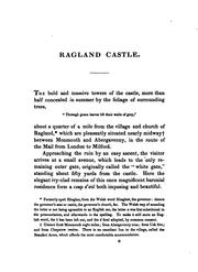 Cover of: A Companion to Ragland [sic] Castle; Or, a Familiar Description of that Beautiful and ...
