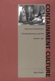 Cover of: Containment culture