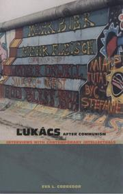 Cover of: Lukács After Communism