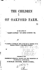 Cover of: The Children of Oakford Farm |