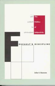 Cover of: Foucault's discipline