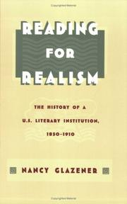 Cover of: Reading for realism