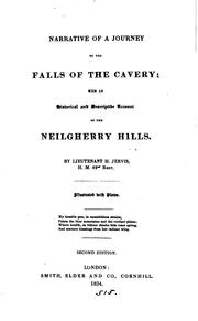 Cover of: Narrative of a journey to the falls of the Cavery with an account of the Neilgherry hills |