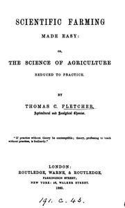 Cover of: Scientific farming made easy |