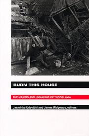 Cover of: Burn This House |