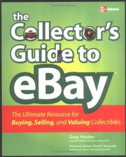 Cover of: The collector's guide to eBay: the ultimate resource for buying, selling, and valuing collectibles