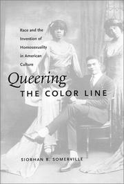 Cover of: Queering the Color Line | Siobhan B. Somerville