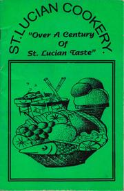 Cover of: St Lucian cookery | Wenton O. Spence