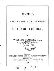 Cover of: Hymns written for Wigston Magna church school |