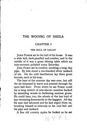 Cover of: The Wooing of Sheila