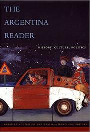 Cover of: The Argentina reader