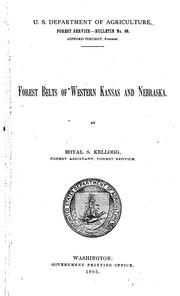 Cover of: Forest Belts of Western Kansas and Nebraska