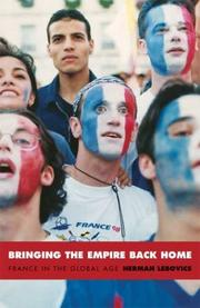 Cover of: Bringing the Empire Back Home | Herman Lebovics