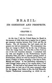 Cover of: Brazil: The Gold-fields of Brazil: Their History, Production and Future Importance | Charles Paul MacKie