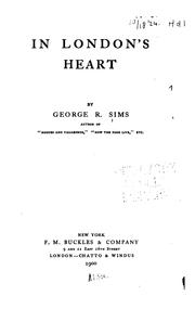 Cover of: In London's Heart