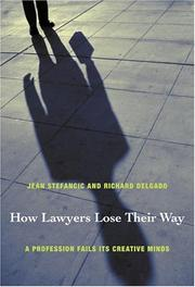 Cover of: How Lawyers Lose Their Way