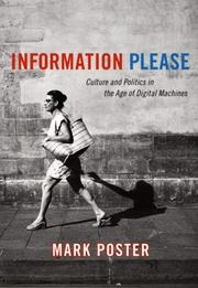 Cover of: Information Please