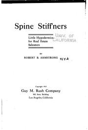 Cover of: Spine Stiff