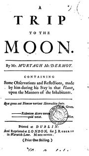 Cover of: A trip to the moon. Repr