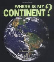 Cover of: Where Is My Continent?