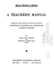 Cover of: A Teacher