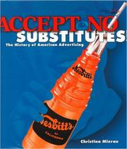 Cover of: Accept no substitutes!