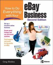 Cover of: How to Do Everything with Your eBay Business, Second Edition (How to Do Everything)