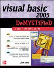 Cover of: Visual Basic 2005 Demystified | Jeff Kent