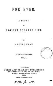 Cover of: For ever, by a clergyman