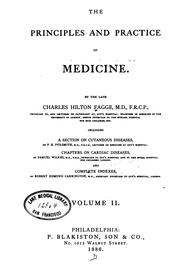 Cover of: The Principles and practice of medicine v. 2