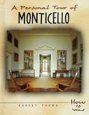 Cover of: A personal tour of Monticello