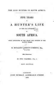 Cover of: Five Years of a Hunter