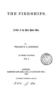 Cover of: The fire-ships | William Henry Giles Kingston