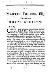 Cover of: A Review of the Works of the Royal Society of London: Containing Animadversions on Such of the ..