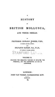 Cover of: A history of British Mollusca and their shells