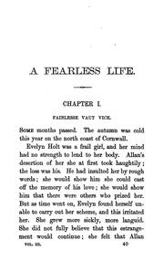 Cover of: A fearless life, by Charles Quentin
