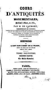 Cover of: Cours d