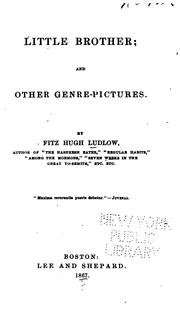 Cover of: Little Brother: And Other Genre-pictures