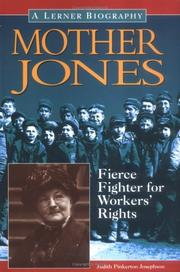 Cover of: Mother Jones: fierce fighter for workers' rights