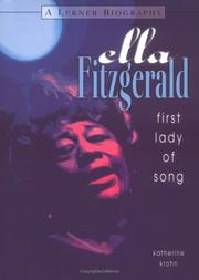 Cover of: Ella Fitzgerald: First Lady of Song (Carter G. Woodson Honor Book)