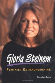Cover of: Gloria Steinem