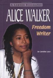 Cover of: Alice Walker